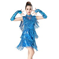 ラテンダンスフリンジダンス衣装ラテンダンスワンピースキッズタッセルキラキラ女性用レディースダンス女の子練習服キッズダンス性能サンバダンスウェア女の子レオタード夏国際ジュニア競争ダンス教室お揃い激安セール