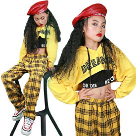 ダンス 衣装 キッズ キッズダンス ダンス衣装 セットアップ ヘソ出し ヒップホップ 女の子 キッズ パーカー チェック柄 タンクトップ ガールズ 派手 韓国風 ダンス 衣装 キッズダンス衣装 かっこいい ロングパンツ 激安 セール