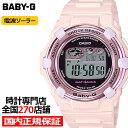 【20日限り!ポイント最大52倍】《1月11日発売》BABY-G チェリーブロッサム・カラーズ 桜 BGR-3000CB-4JF レディース 腕時計 電波ソーラー デジタル ピンク ベビージー カシオ 国内正規品