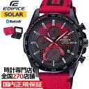 《10月18日発売/予約》カシオ エディフィス Honda Racing 限定モデル EQB-1000HRS-1AJR メンズ 腕時計 ソーラー Bulet…
