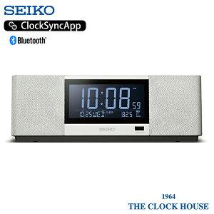 【30日はポイント最大47倍】セイコー マルチサウンドクロック SS501A 目覚時計 置時計 ホワイト Bluetooth USB ラジオ スピーカー 新世代スピーカークロック