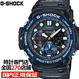 G-SHOCK ジーショック GN-1000B-1AJF カシオ メンズ 腕時計 デジアナ ブラック ガルフマスター ツインセンサー 国内正規品