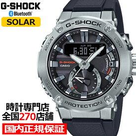 G-SHOCK ジーショック GST-B200-1AJF カシオ メンズ 腕時計 ソーラー デジアナ ブラック シルバー Gスチール 国内正規品