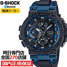 G-SHOCK ジーショック MTG-B1000XB-1AJF カシオ メンズ 腕時計 電波ソーラー ブラック MTG bluetooth 国内正規品