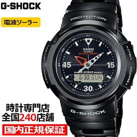【18日はポイント最大37.5倍&最大5000円OFFクーポン】《10月9日発売》G-SHOCK Gショック フルメタル アナデジコンビ 初代デザインモデル AWM-500-1AJF メンズ 腕時計 電波ソーラー ブラック 国内正規品 カシオ