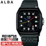 《3月7日発売/予約》セイコーアルバスーパーマリオワールドメンズ腕時計クオーツブラックスーパーファミコンACCK426
