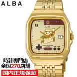 《9月18日発売/予約》セイコーワイアードスーパーマリオ流通限定メンズ腕時計クオーツゴールド無敵ACCK711