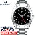 《2月8日発売/予約》グランドセイコー9FクオーツGMTメンズ腕時計SBGN013ブラックメタルベルトカレンダースクリューバック9F86