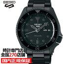 《7月22日発売/予約》セイコー5スポーツストリートSBSA025メンズ腕時計メカニカル自動巻きナイロンブラック日本製