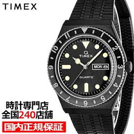 TIMEX タイメックス Q TIMEX キュータイメックス TW2U61600 メンズ 腕時計 電池式 クオーツ デイデイト ブラック