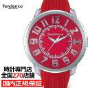 テンデンス フラッシュ TY532005 メンズ レディース 腕時計 クオーツ シリコンベルト レッド LED レインボー 50mm 男…