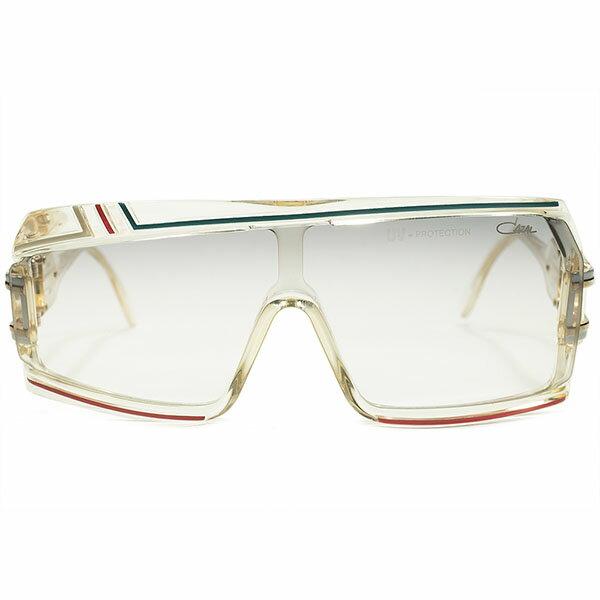 伝説的モデル電撃入荷 最高峰デッドストック 1980s 西ドイツ製 MADE IN WEST GERMANY オリジナル カザール CAZAL mod858 アシンメトリーサングラス size61/21 ヴィンテージ メガネ 眼鏡 A4647