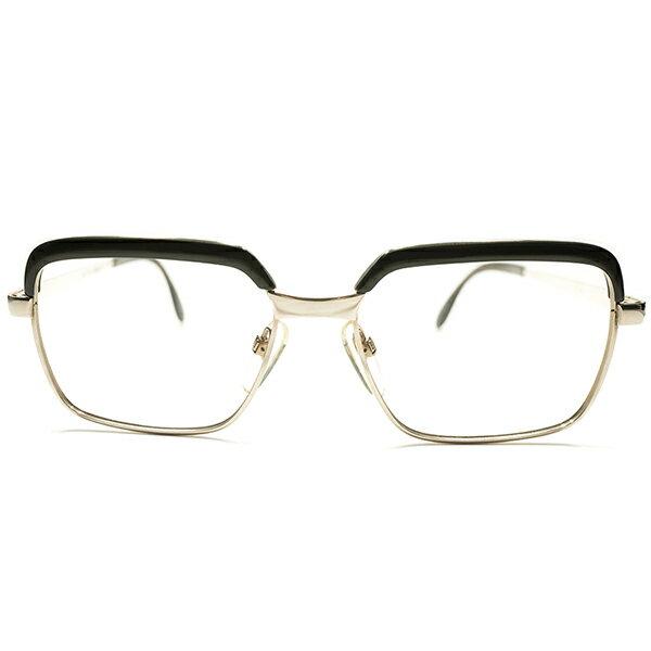 世界最高峰クオリティ&超実用的サイズ デッドストック 1960s-1970s 西ドイツ製 MADE IN WEST GERMANY ローデンストック RODENSTOCK 1/20-10K 本金張り コンビネーションフレーム CORREL size54/16 ヴィンテージ メガネ 眼鏡 A5084