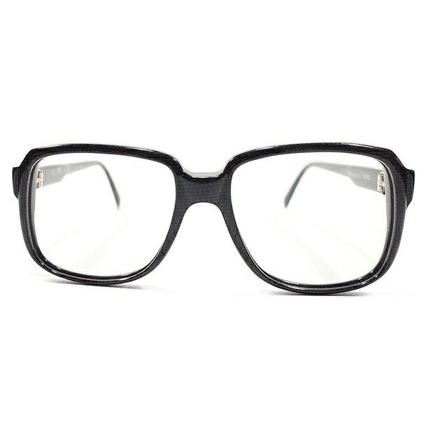 MODE CHIC デッドストック 1980s フランス製 MADE IN FRANCE YSL イブサンローラン バネ式蝶番 DARK PURPLE×クロコ柄 アビエーターSTYLE ヴィンテージ メガネ 眼鏡 サングラス A4047