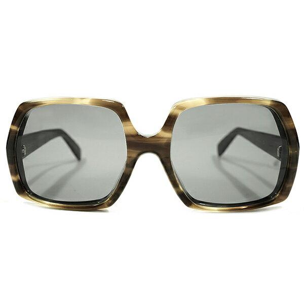 超肉食BIG AVIATOR デッドストック 1960s-1970s 西ドイツ製 MADE IN WEST GERMANY ローデンストック RODENSTOCK 鼈甲厚生地 アビエーターSTYLE フレーム size57/19 ヴィンテージ メガネ 眼鏡 サングラス A4009