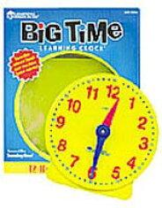 送料無料!【学習時計(小)】知育玩具時間時計の読み方教材英語教室英会話教室クイズこども英語【RCP】
