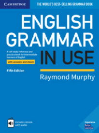 送料無料! 解答・Interactive ebook付き 最新版!【English Grammar In Use (5th Edition) Book with Answers and Interactive eBook】英文法 英語