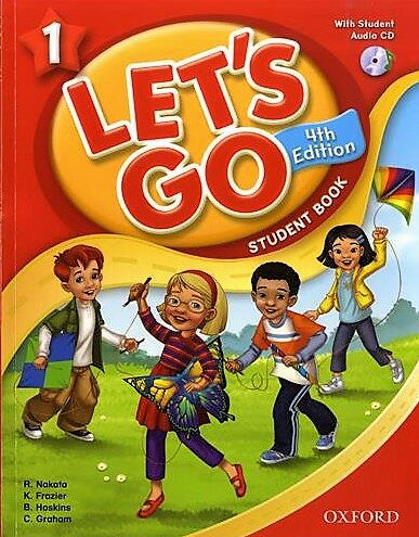 送料無料!【Let's Go 1 Student Book With Audio CD Pack (4th Edition )】子ども英語教材