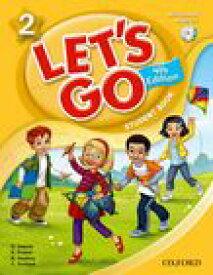 送料無料!【Let's Go 2 Student Book With Audio CD Pack (4th Edition)(旧版)】子ども英語教材