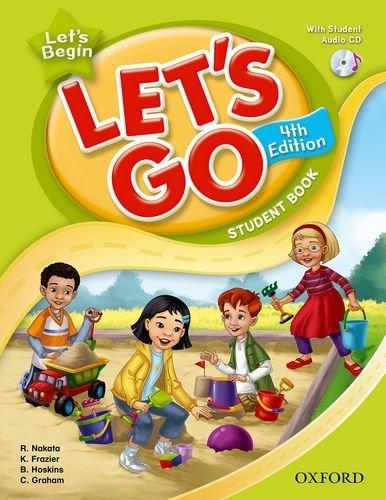送料無料!【Let's Begin Student Book With Audio CD Pack (4th Edition )】子ども英語教材【RCP】