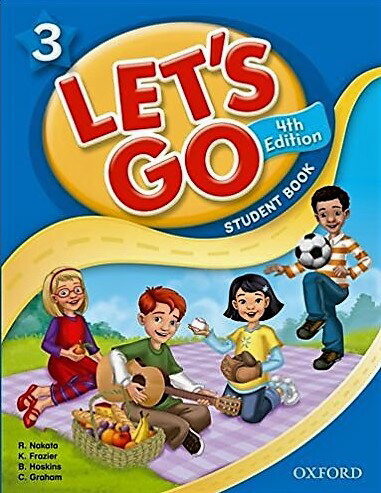 送料無料!【Let's Go 3 Student Book With Audio CD Pack (4th Edition )】子ども英語教材