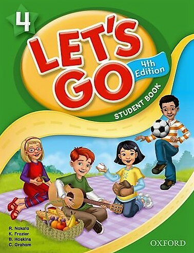 送料無料!【Let's Go 4 Student Book With Audio CD Pack (4th Edition )】子ども英語教材