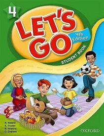 送料無料!【Let's Go 4 Student Book With Audio CD Pack (4th Edition)(旧版)】子ども英語教材