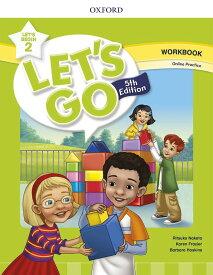 送料無料!【Let's Go 5th Edition Let's Begin 2 Workbook with Online Practice】ワークブック