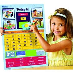 送料無料!【マグネット式カレンダー】MagneticLearningCalendar知育玩具英語教室英会話教室こども英語英語カレンダー曜日日付季節月英単語【RCP】