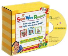 送料無料!【ScholasticSightWordReaders25Readers,WorkbookandAudioCDSet】子ども英語英単語【RCP】【marathon201305_toy】