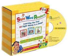 送料無料!【Scholastic Sight Word Readers 25 Readers, Workbook and Audio CD Set】サイトワード サイトワーズ 子ども英語 英単語 重要単語
