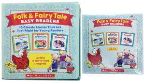 送料無料!【Folk & Fairy Tale Easy Readers (絵本15冊 + CD)】子ども英語 英単語 多読 英語リーダー 【RCP】