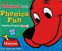 送料無料!CD・日本語ガイド付き!【クリフォード フォニックス 1 (12冊+CD)】Clifford Phonics Fun Pack 1 子ども英語 英単語...
