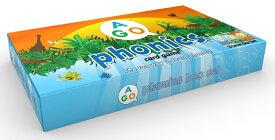 送料無料!【AGO フォニックス カードゲーム (第2版) ボックスセット】楽しい英語カードゲーム!家族全員、英語であそぼう!