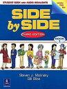 送料無料【Side by Side 1 Student Book with Audio Highlights】英語教材 英会話 【RCP】