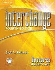 送料無料!【Interchange 4th Edition Intro Student's Book with Self-study DVD-ROM】旧版 英語教材 英会話 文法・スピーキング・リスニング