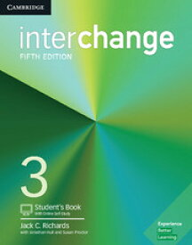 【Interchange 5th Edition Level 3 Student's Book with Online Self-Study】(最新版)英語教材 英会話 文法・スピーキング・リスニング