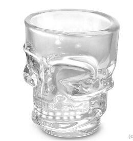 テキーラ ショットグラス かわいい【ショットグラス スカル51ml6個セット】 リビー カラベラLB6191 カクテルグラス