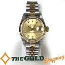 ロレックス / ROLEX : デイトジャスト レディス レディース シャンパン文字盤 SS/YG 10Pダイヤ F番 79173G 時計 腕時計 レディース[...