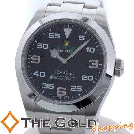 b1b622651f ロレックス エアキング 116900 2018年 保証書 国内 ランダム ROLEX 時計 腕時計 メンズ 男性用【中古