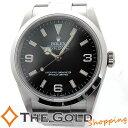 ロレックス ROLEX エクスプローラー 114270 D番 ライトポリッシュ 点検済み 腕時計 メンズ 【中古 ユーズド】