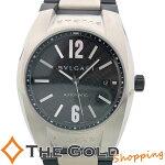 ブルガリBVLGARIエルゴン自動巻きSSラバーEG40S時計腕時計メンズ[男性用【中古ユーズド】
