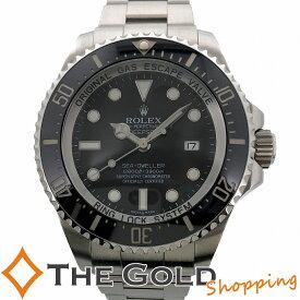 【中古】ロレックス シードゥエラー 116660 ディープシー V番 2010年 国内 OH済 ROLEX SEA DWELLER シードウェラー スポーツ ダイバーズ 自動巻き SS AT 腕時計 メンズ[男性用]
