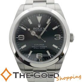 【中古】ロレックス エクスプローラー1 214270 G番 OH済 ROLEX EXPLORER スポーツ 腕時計 メンズ[男性用]