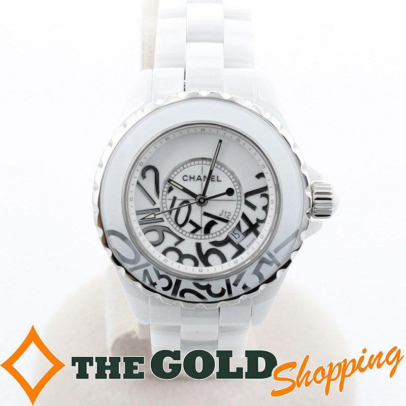 シャネル / CHANEL : J12 ジェイトゥエルヴ グラフィティ 世界限定1200本 ライトポリッシュ済み H5239 時計 腕時計 レディース[女性用] 【中古】