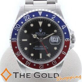 【最大5,000円オフクーポン!】ROLEX ロレックス GMTマスター1 16700 X番 青赤 赤青ベゼル ペプシカラー 16700 時計 腕時計 メンズ[男性用] 【中古 ユーズド】ご褒美 ギフト プレゼント ビジネス