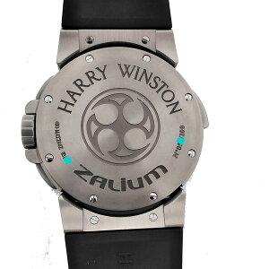 HARRYWINSTONオーシャンデュアルタイムプロジェクトZ4世界100本限定OH済400-MATZ44ZC.Wハリーウィンストン腕時計メンズ【中古ユーズド】