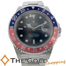 【中古】ロレックス GMTマスター2 16710 P番 青赤 赤青 ライトポリッシュ済 ROLEX 腕時計 [メンズ 男性用] ギフト プレゼント ご褒美 秋 ハロウィン ザ・ゴールド