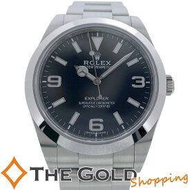 【中古】ロレックス エクスプローラー1 214270 2019年10月 国内 ROLEX 腕時計 [メンズ 男性用]
