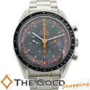 【中古】オメガ スピードマスター マーク2 3570.40 アポロ11号 35周年 記念 2004年限定 日本限定 OMEGA 3570.40 腕時…